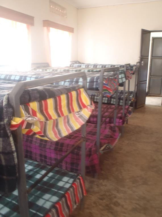 Die maroden Betten wurden hier endlich durch...