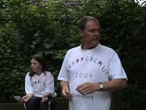 Manfred Becker organisierte mit seiner Klasse den Sponsorenlauf