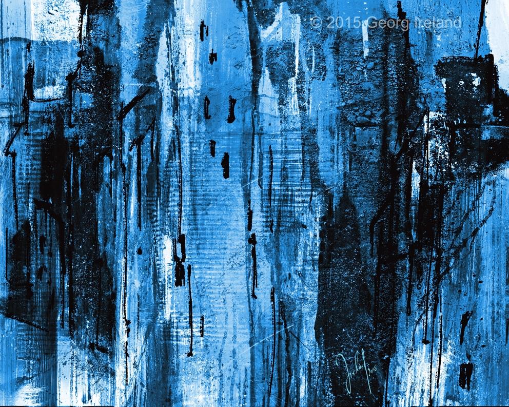 urban landmarks blue