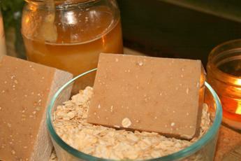 All Natural Oatmeal & Honey Goat Milk Soap