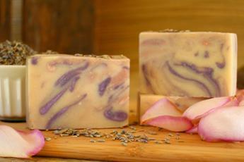 Goat Milk Soap ~ Rose Lavender