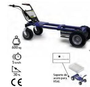 Carro eléctrico 4 ruedas