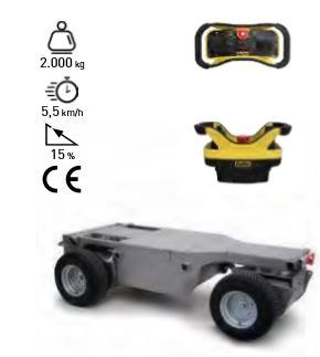 Carro eléctrico 4x4