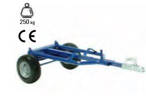 Remolque de dos ruedas