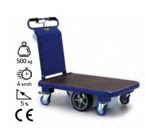 Carro eléctrico con plataforma