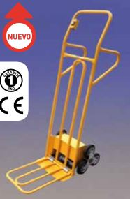 Carro sube escaleras