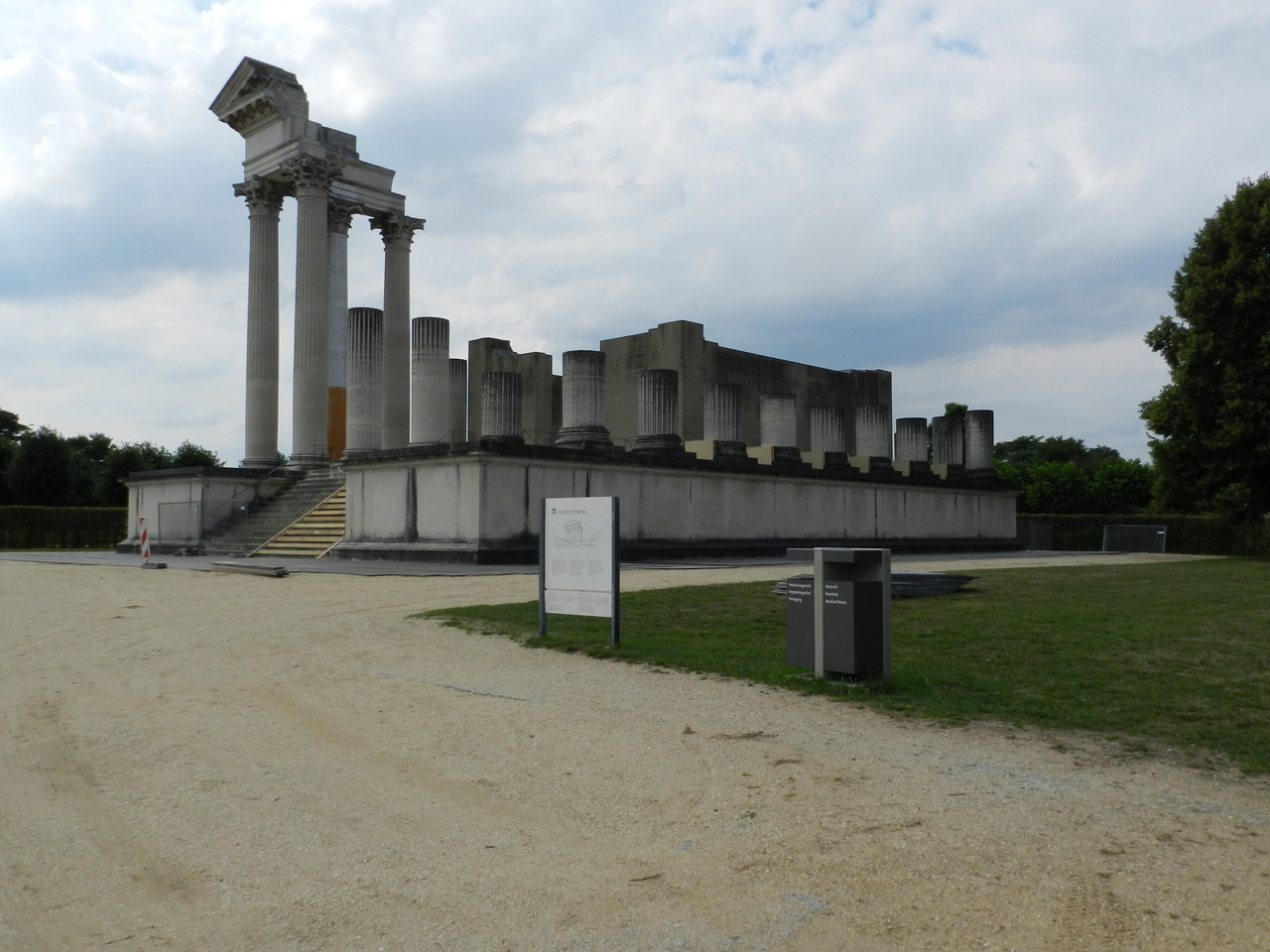 Archäologischer Garten in Xanten