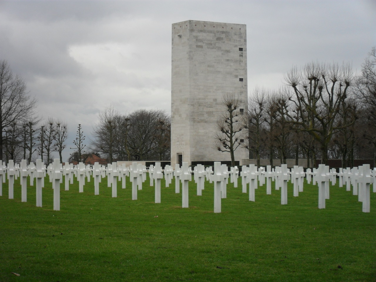 Soldatenfriedhof in Holland