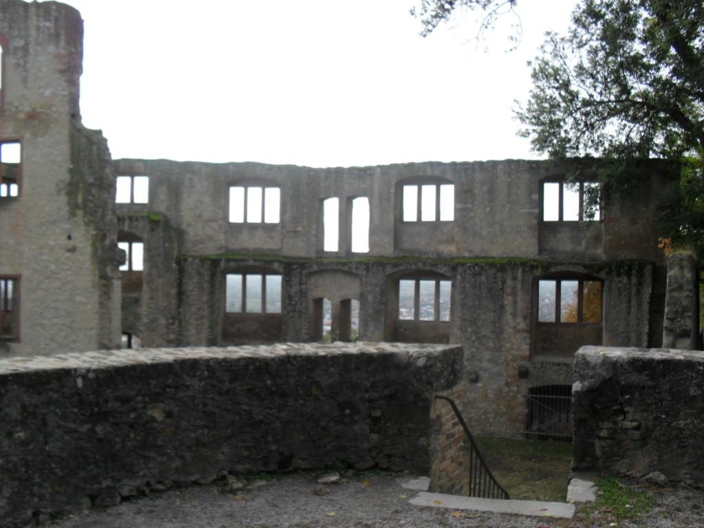 Burgruine in Oppenheim