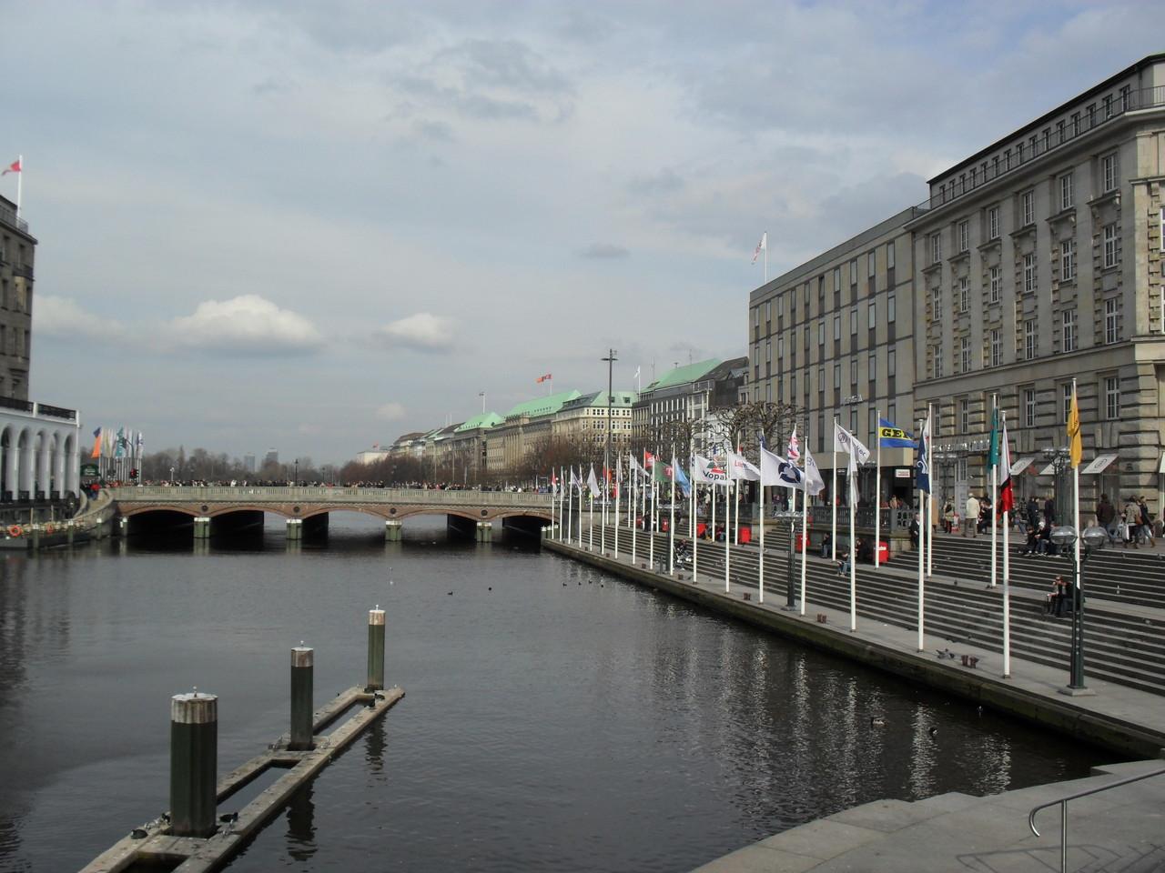 Die Alster (Hamburg, meine Heimat ... na ja, nicht ganz)