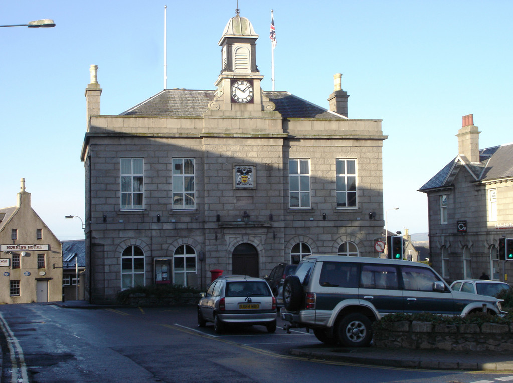 Oldmeldrum Town hall