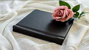 Albums allow you to tell a story,  no matter how bir or small you can hold your memories close in this beautiful soft Italian leather.