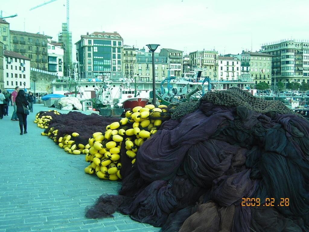 SAN SEBASTIAN le vieux port