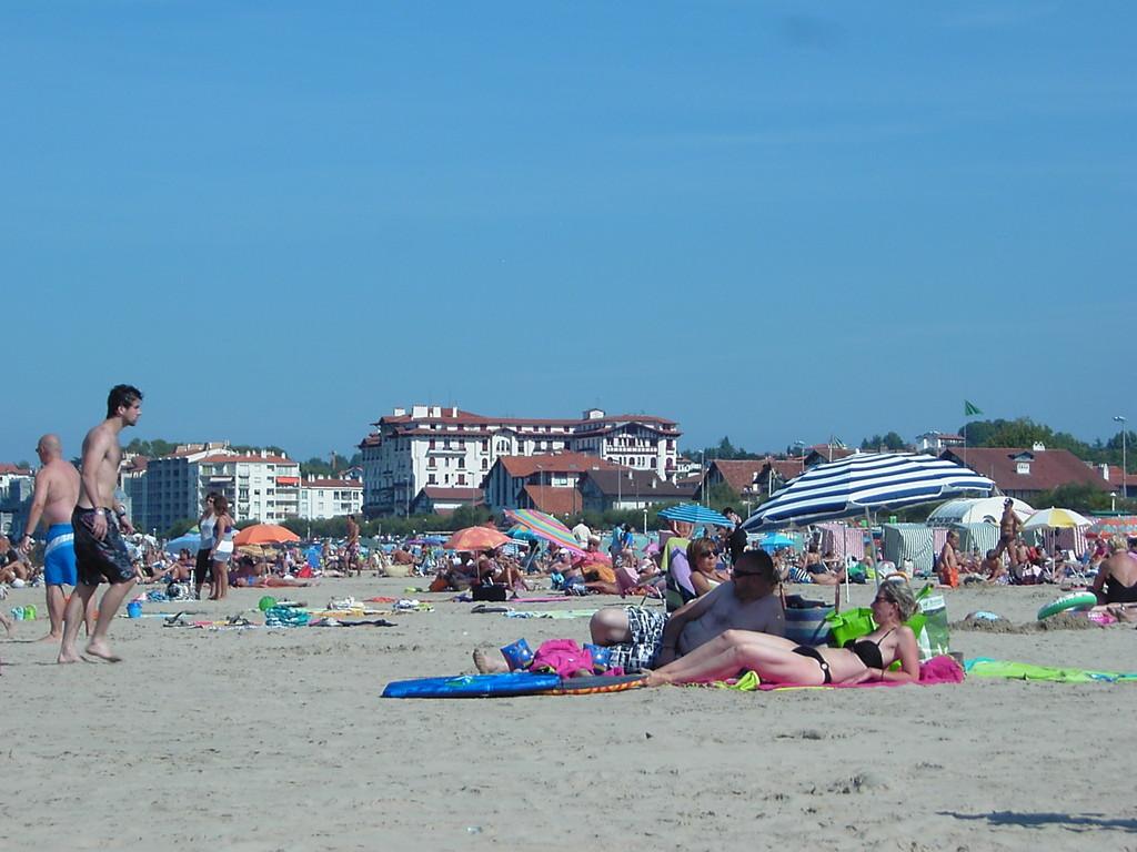 Une partie de la plage