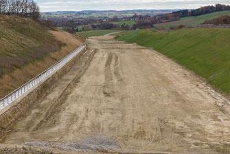 Baustellenzufahrt (Bild: Andreas Hartl, LBV-Archiv)