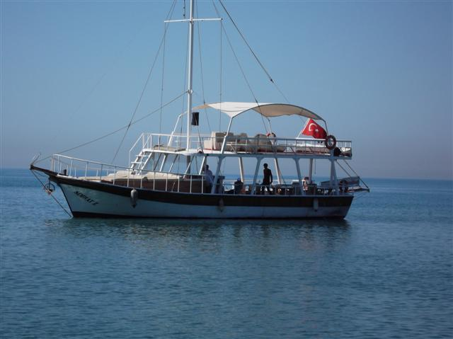 Bootstour nach Antalya