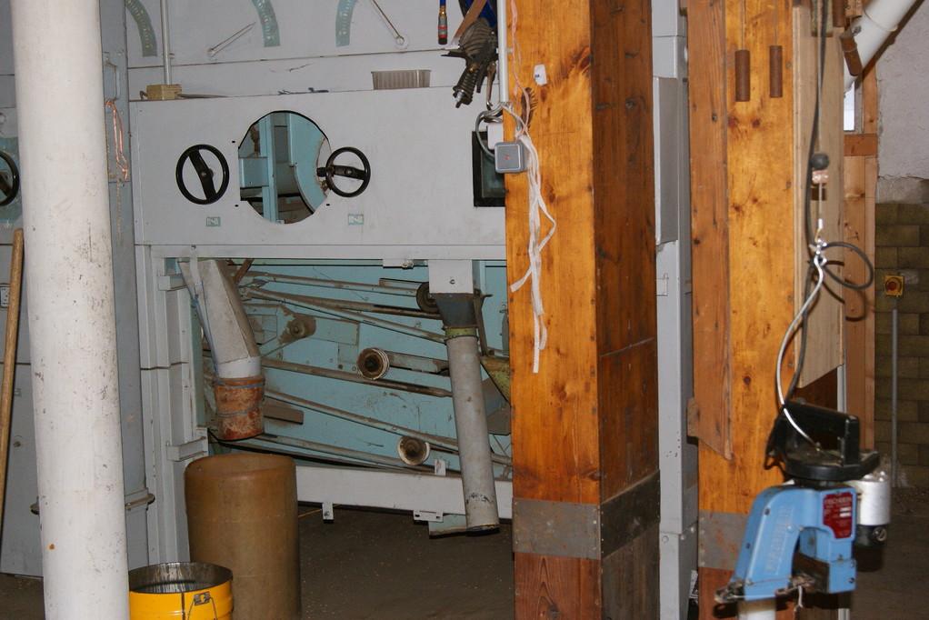 Der Petkus 546 in der Reinigungsanlage für Getreide und Gewürze