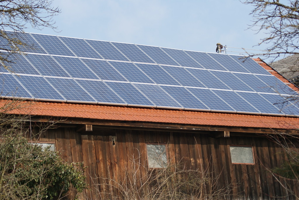 Solarstrom- da kommt Freude auf
