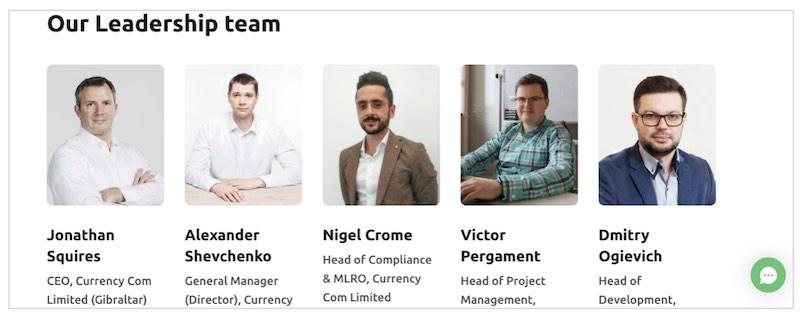currency,com squadra di sviluppo