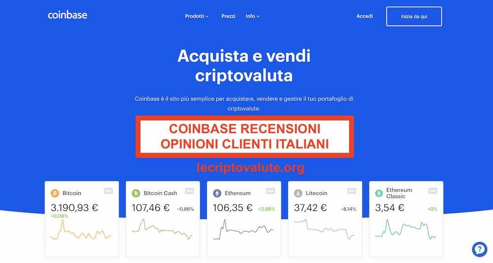 coinbase bitcoin deposito in sospeso)