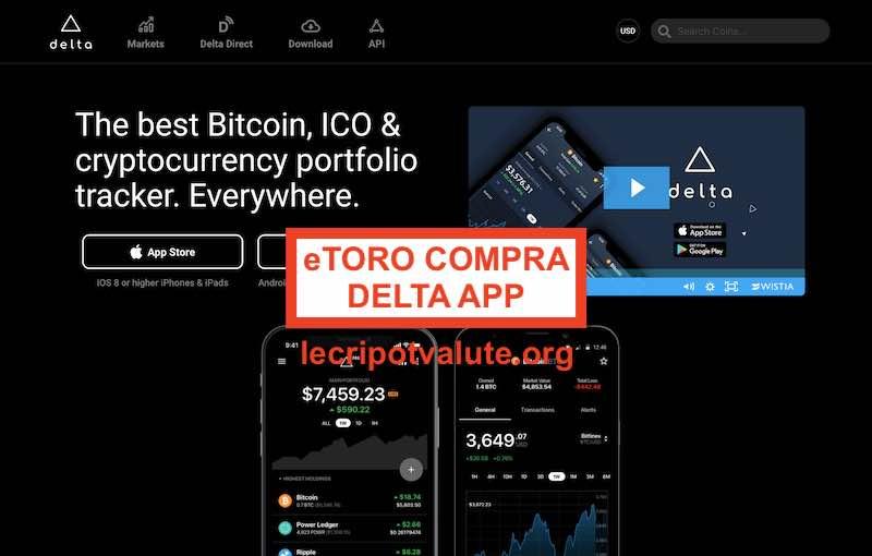 etoro compra delta app portafoglio criptovalute