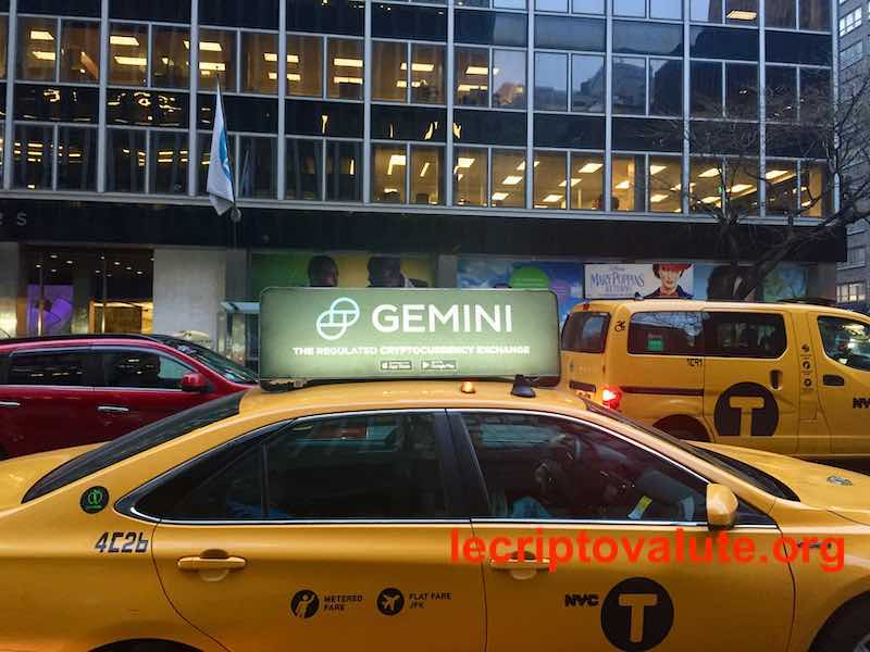 gemini exchange new york