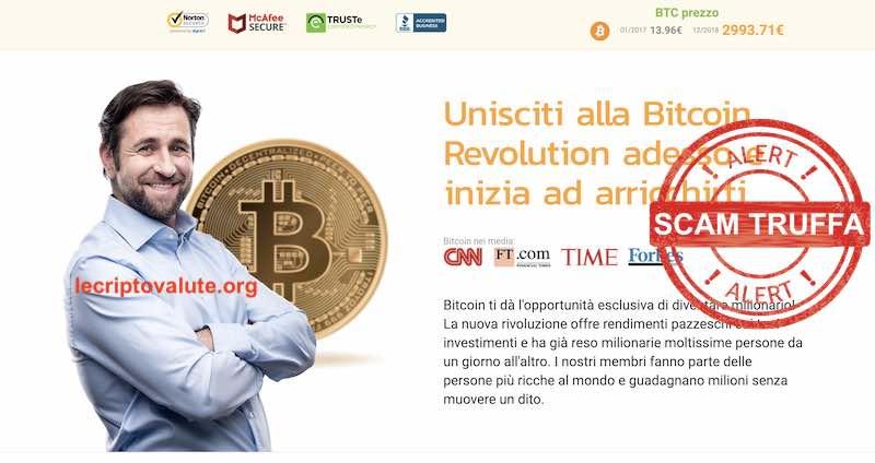 bitcoin compass recensioni opinioni truffa 2018-2019