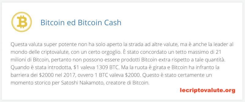 Trading Bitcoin e Bitcoin Cash - AVATrade