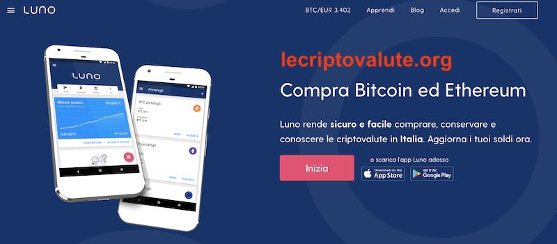 luno bitcoin exchange cos'è