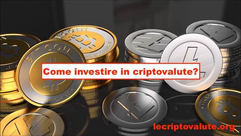 come investire in criptovalute