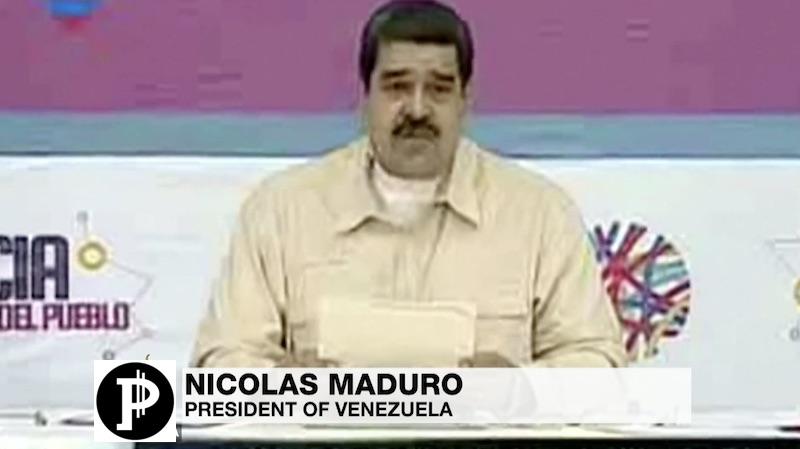 petro criptovaluta venezuela presidente maduro