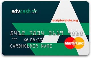 advcash carta di credito come funziona bitcoin