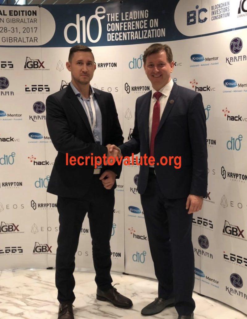 Tomas Mickauskas, il fondatore di Bitcoinus