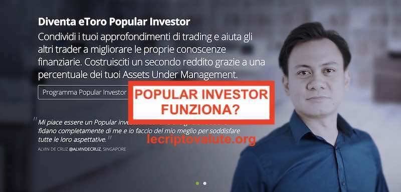 etoro copyportfolio come funziona popular investor