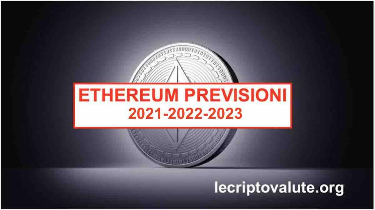 Ethereum previsioni 2018 2020 investire in rialzo a lungo termine - Previsioni mercato immobiliare lungo termine ...