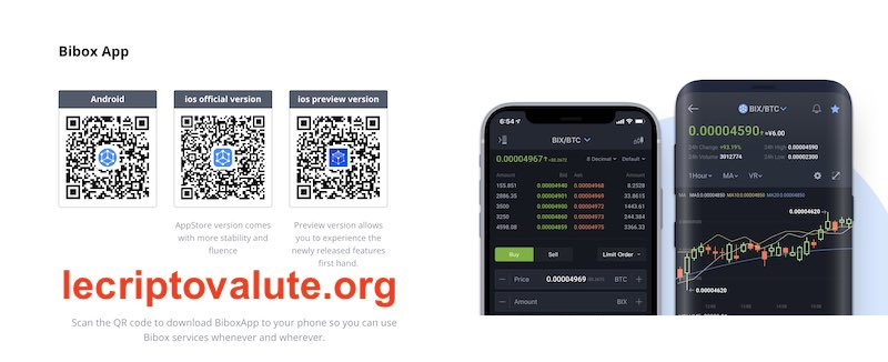 bibox exchange mobile