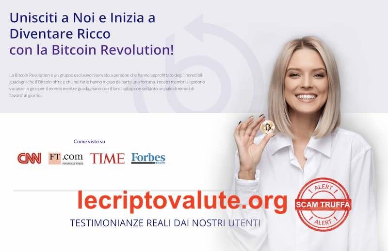 bitcoin revolution truffa opinioni recensioni
