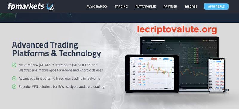 fp markets metatrader trading