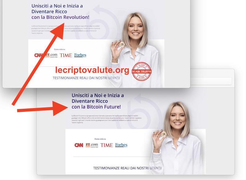 bitcoin future recensioni false