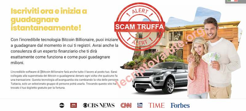 bitcoin billionaire truffa stafano savarese