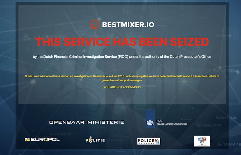 bestmixer sequestrato polizia europol interpol