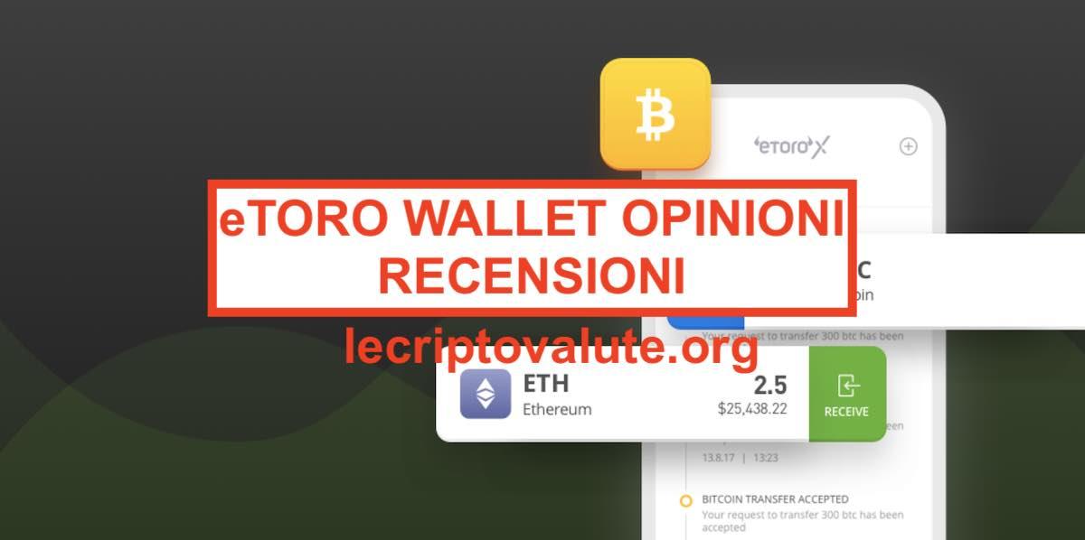 trasferimento del portafoglio di etoro bitcoin
