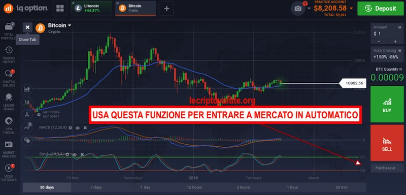 iq option trading automatico
