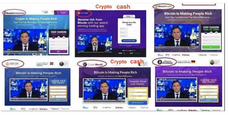 crypto cash truffa uguale a bitcoin era e bitcoin revolution