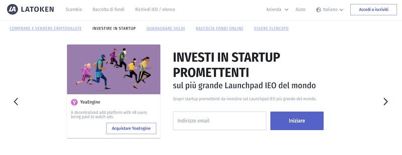 latoken investi in startup promettenti