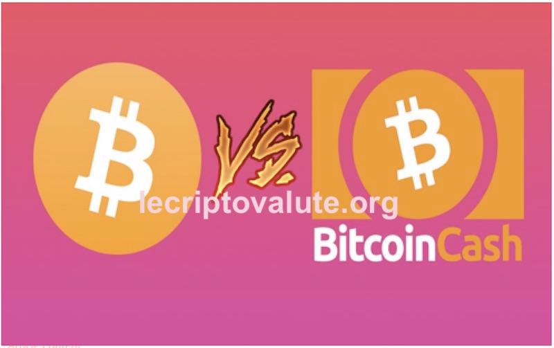 bitcoin o bitcoin cash quali criptovalute comprare nel 2018