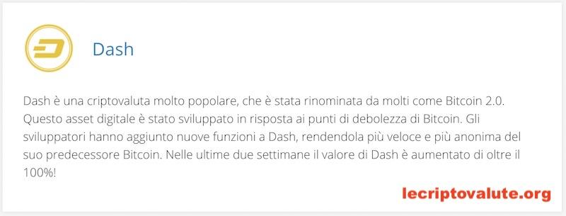 Trading DASH - AVATrade