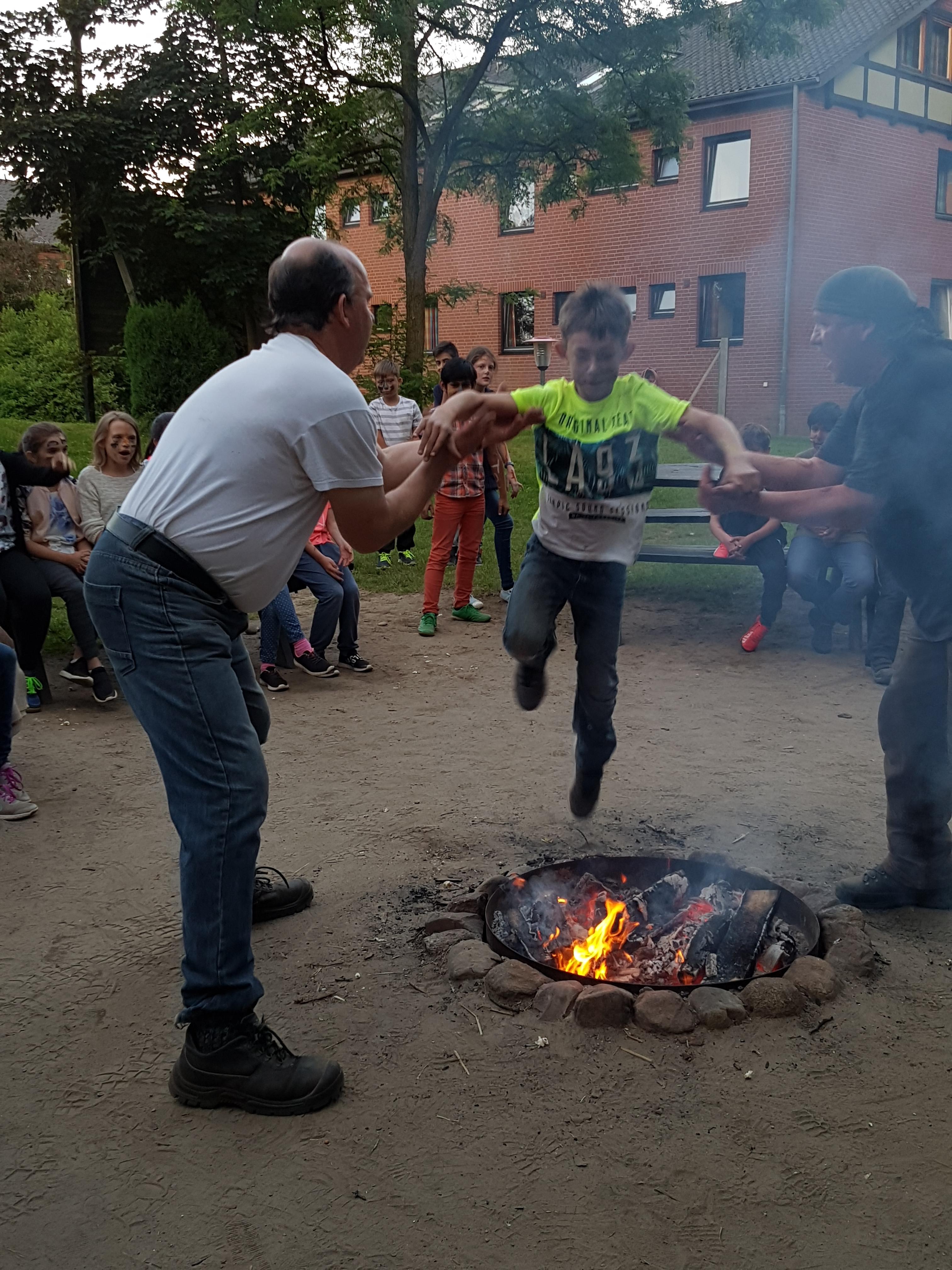 """""""Feuertaufe"""" in Hitzacker. Jason traut sich!"""