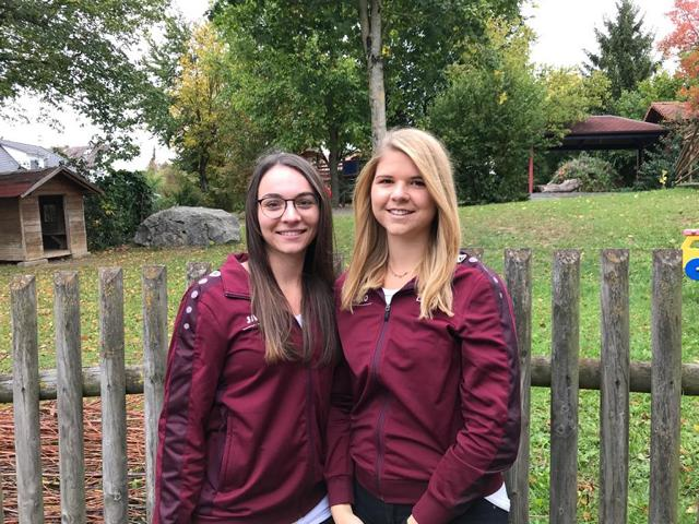 Trainerinnen Kesselspatzen - Jana & Lisa