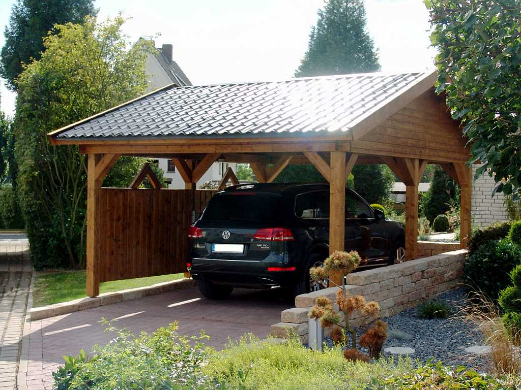 carports und garagen aus holz br mmer blockhaus betonzaun l rmschutzzaun carport. Black Bedroom Furniture Sets. Home Design Ideas